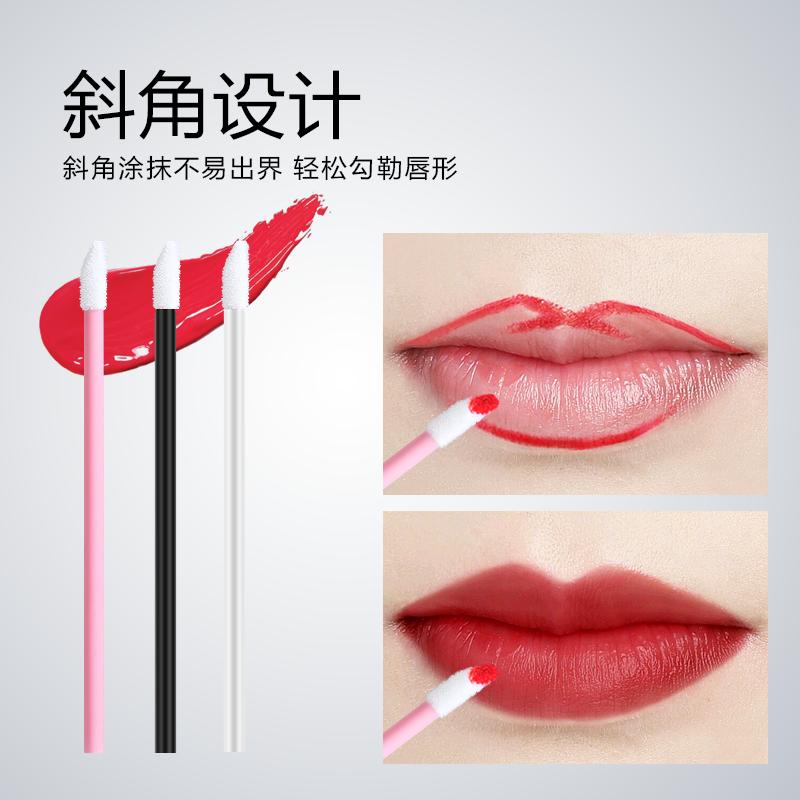 一次性唇刷棒口红刷100支女便携唇膜唇釉唇笔唇彩刷子化妆师专用