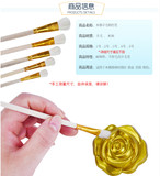 Speed ​​help wool brush color brush water chalk painted pen ceramic special pen gold paint pen European speed help furniture
