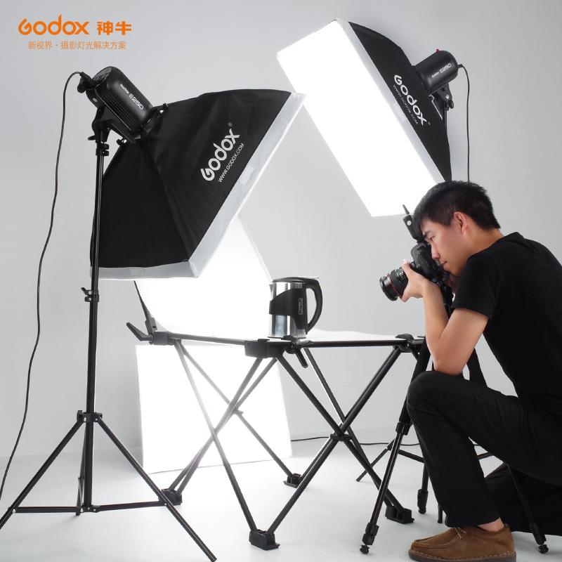 神牛60*130cm拍摄台便携免安装折叠静物台摄影棚影室灯拍摄桌附件