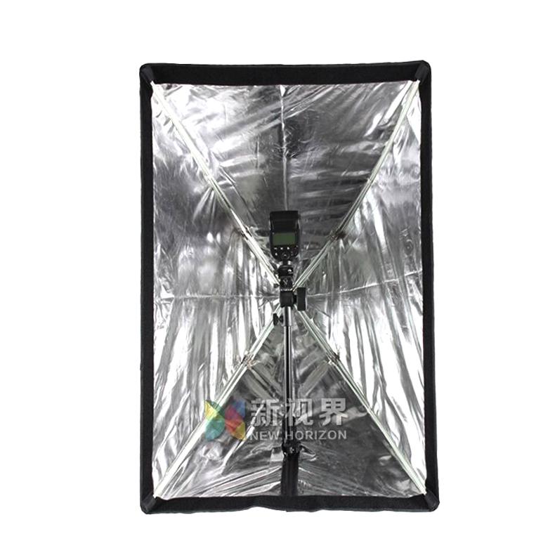 神牛 伞式柔光箱60*90cm 便携式柔光罩闪光灯摄影棚人像拍摄柔光