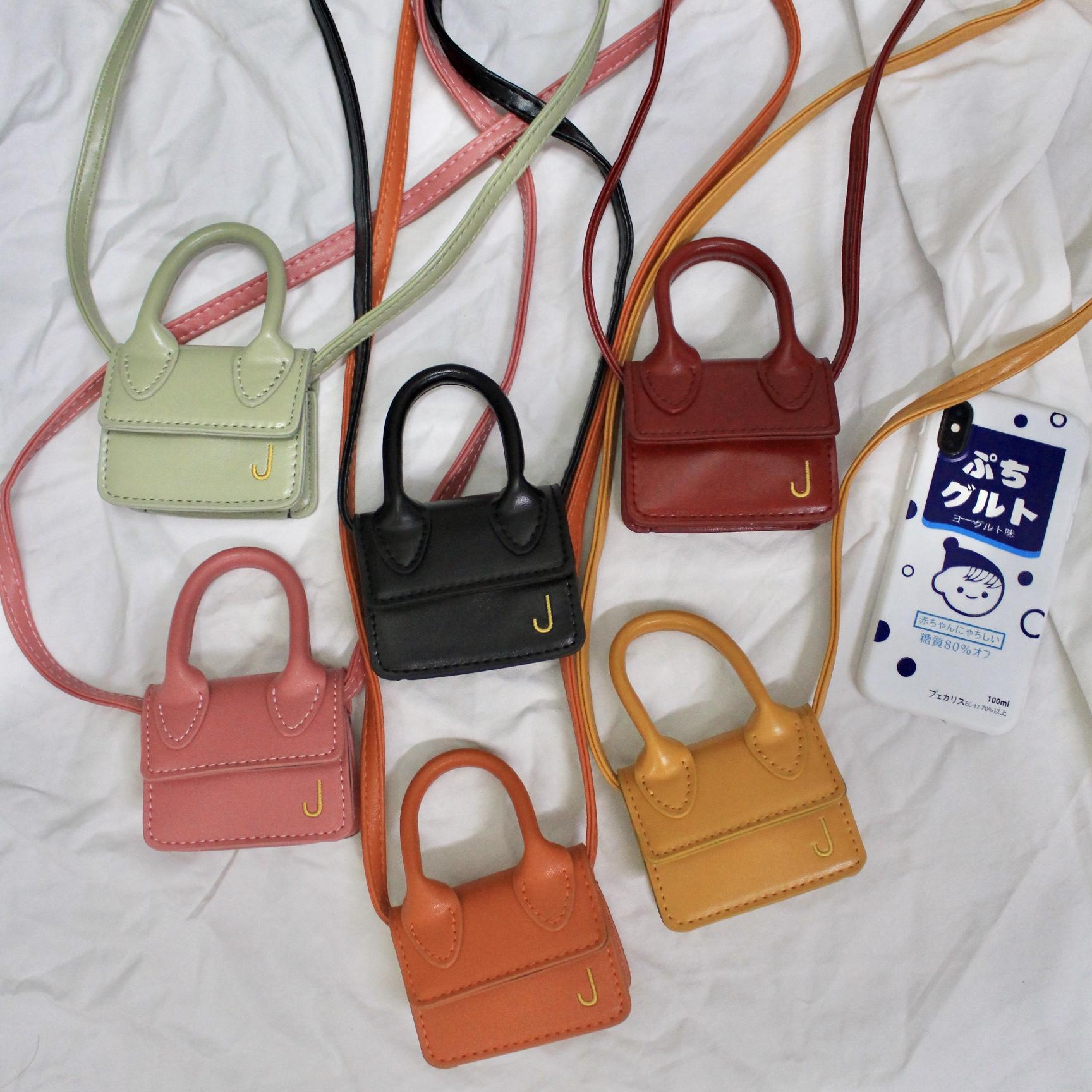 洋气可爱单肩斜挎玩具小包 mini 巴掌大迷你零钱包 只能放零钱口红