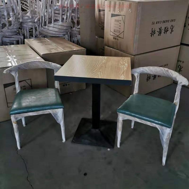 桌椅简约休闲餐饮桌椅