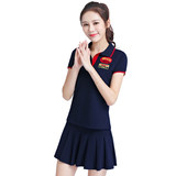 Golf women's suits fashion Korean anti-glare short skirt pants summer badminton wear tennis clothes ladies tops