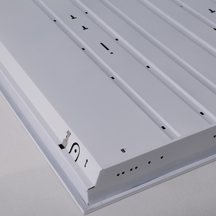 金光树T5T8led格栅灯盘办公室集成平板灯嵌入式全套日光灯支架