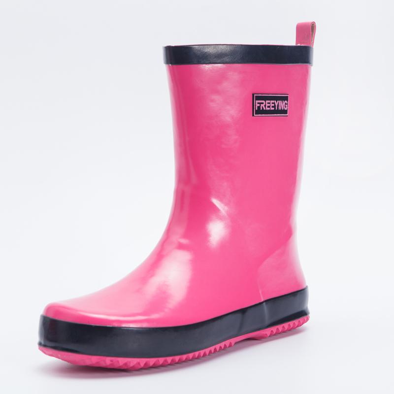 时尚女士雨鞋中筒雨靴成人韩国可爱水鞋防水防滑套鞋胶鞋女式水靴