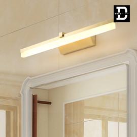 美式卫生间镜前灯全铜大气轻奢浴室现代洗手间灯简约防锈LED壁灯