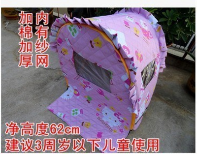 Bicycle shed rain cover electric car heightened cold child seat shed handrail can sit after the tent sitting winter carport