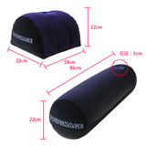 Long cylindrical contour hacking masturbation pillow couple fun furniture sofa cushion posture cushion men and women love bed