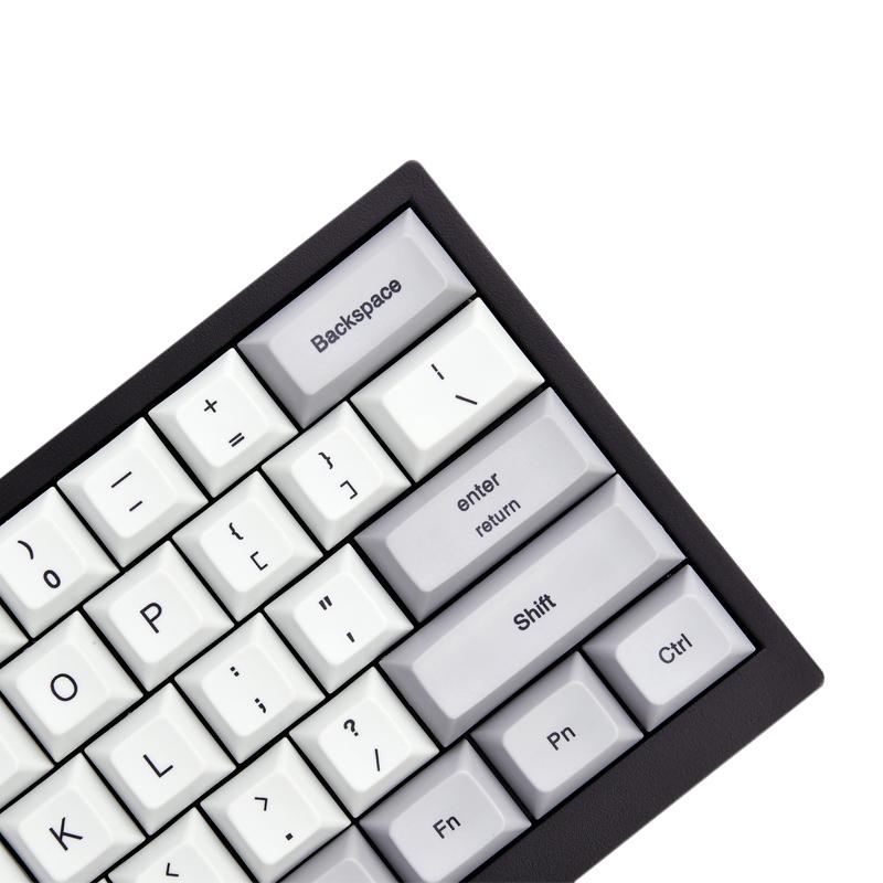 沃特概尔61键机械键盘Tab60PBT键帽cherry轴蓝牙有线键盘