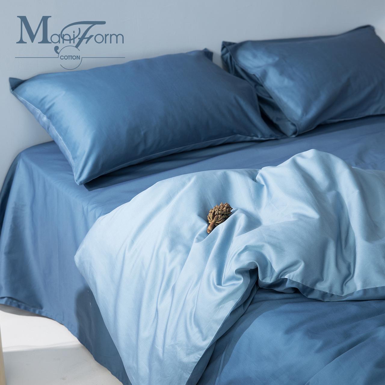 60支长绒棉,接近丝绸般质感:曼妮芬 纯棉床上四件套 1.5m