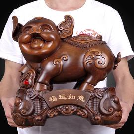 招财生肖猪摆件 家居创意可爱 带储蓄钱罐福猪客厅酒柜装饰工艺品