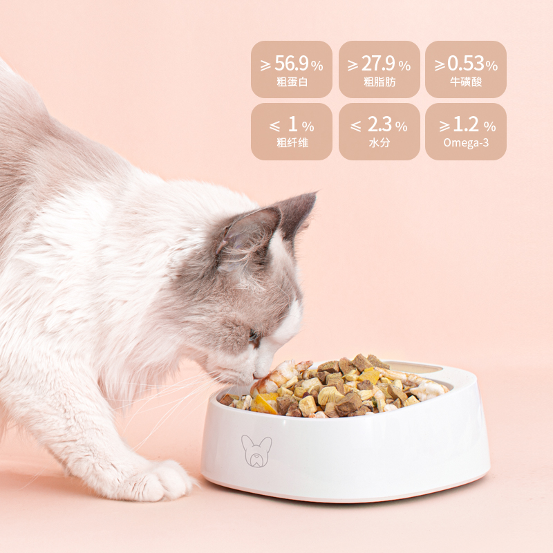 溯食粮冻干猫零食营养增肥发腮猫咪零食宠物鸡肉冻干猫粮幼猫零食优惠券