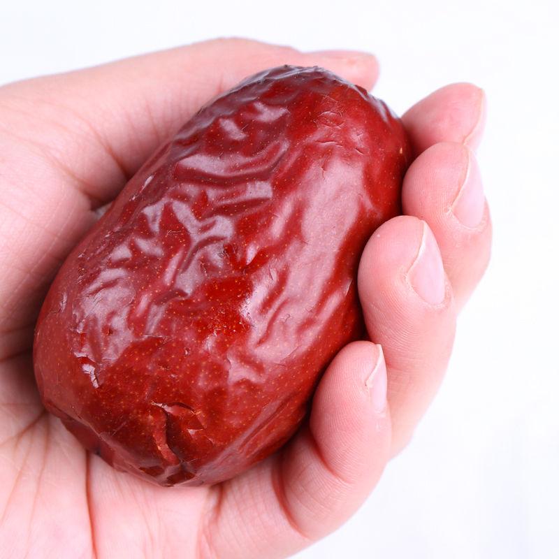 克特级骏枣礼盒装玉枣干果 1500 新疆特产和田大枣特大红枣六星枣子