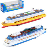 1: 1000 large luxury cruise ship simulation sound of children light alloy back of a cruise ship passenger ship model toy