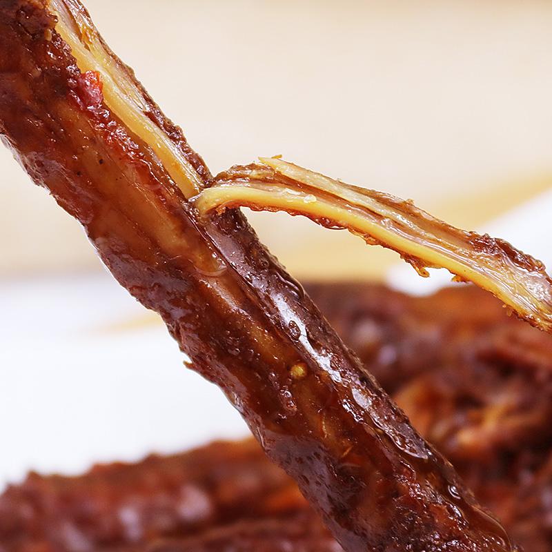 杉爱风干烤脖零食小吃麻辣卤味网红休闲食品肉食熟食即食非鸭脖子