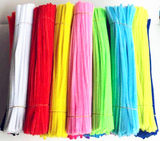 Color woolen hair root bar twisted rod kindergarten handmade materials DIY creative children's toys