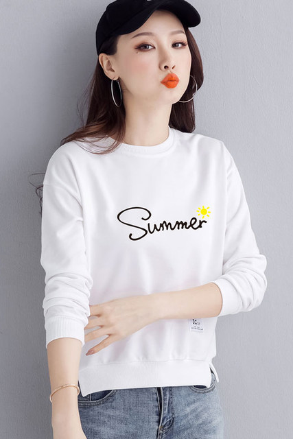 Sweater women 2020 new loose Korean style long-sleeved all-match blouse round neck short ladies sweater spring and autumn thin