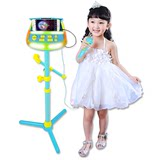 Paige pig toy microphone singing music public address microphone ktv young children singing karaoke machine ok baby