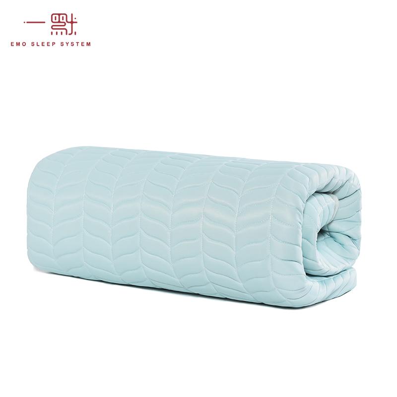 床可水洗 1.8m 一默泰国天然乳胶凉席防蚊三件套可折叠凉席乳胶席