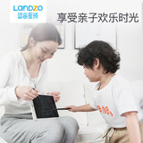 Blue-chou liquid crystal pen tablet drawing board to write graffiti in this electronic color children baby small blackboard clean home