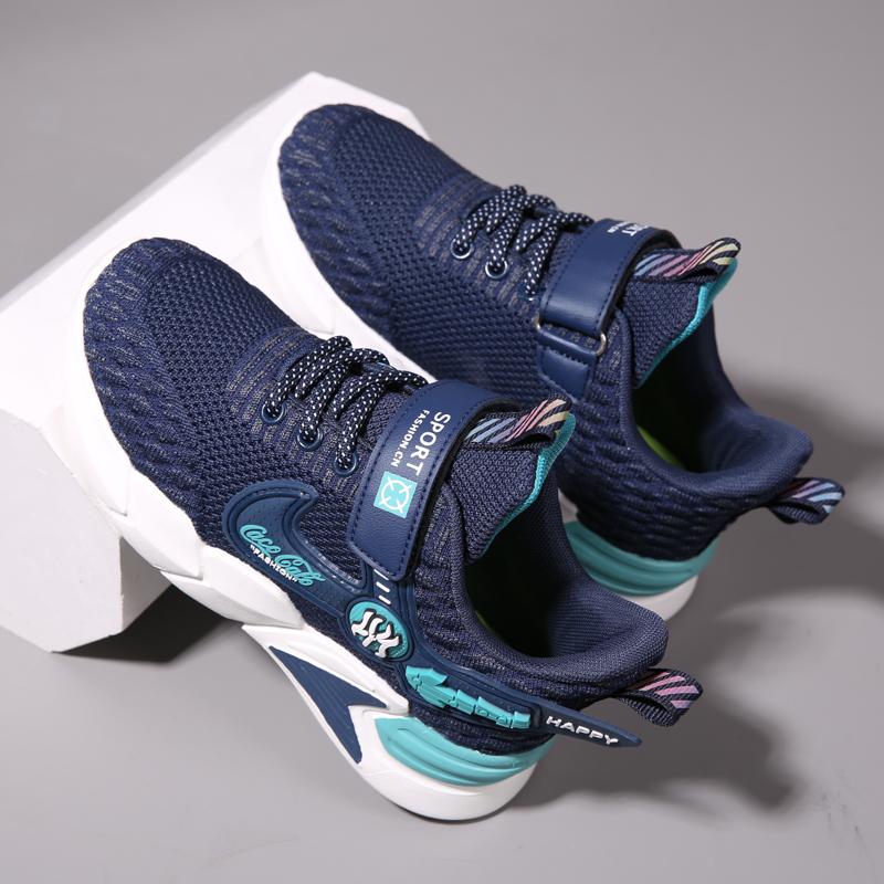 男童鞋子2021新款夏季儿童网鞋春款休闲透气网面中大童男童运动鞋