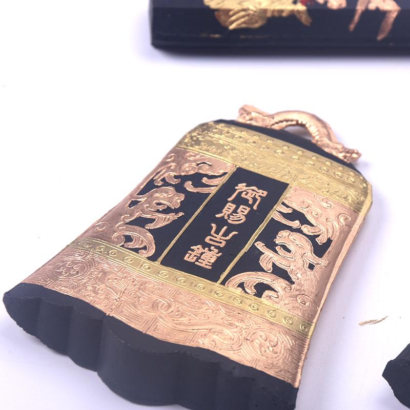 非物质文化遗产八两古钟研墨砚台