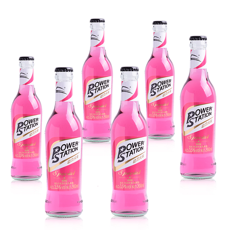 瓶裝 度正品 瓶裝 12 動力火車酒雞尾酒整箱套裝蘇打酒混合口味 300ml