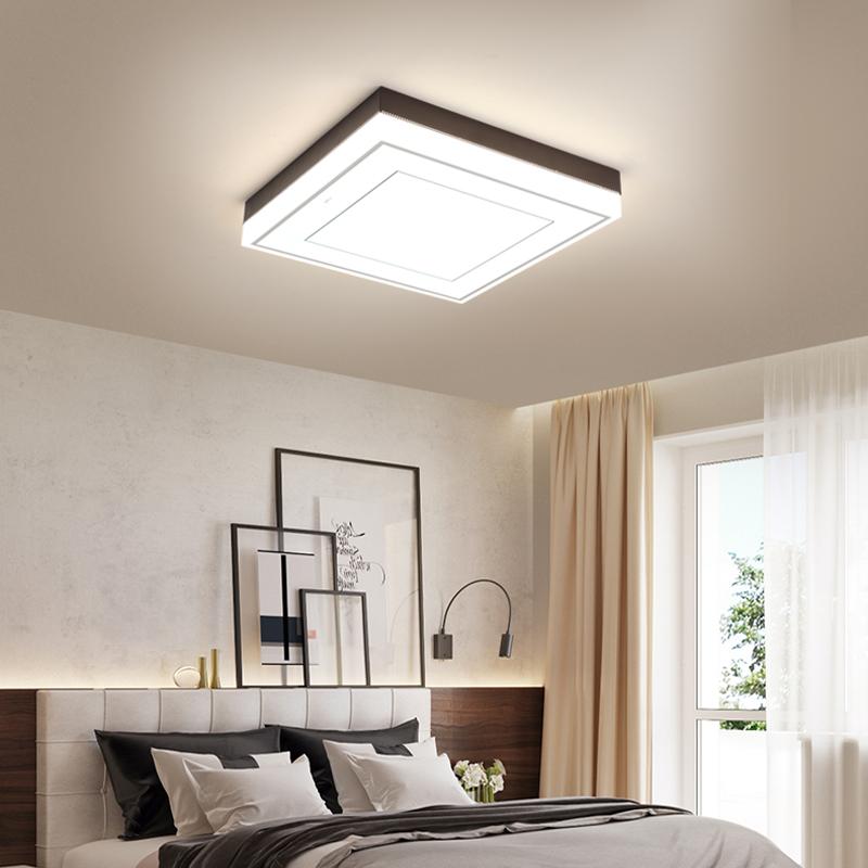 吸顶灯悦朗新款灯 led 欧普照明客厅灯长方形现代简约大气家用 opple