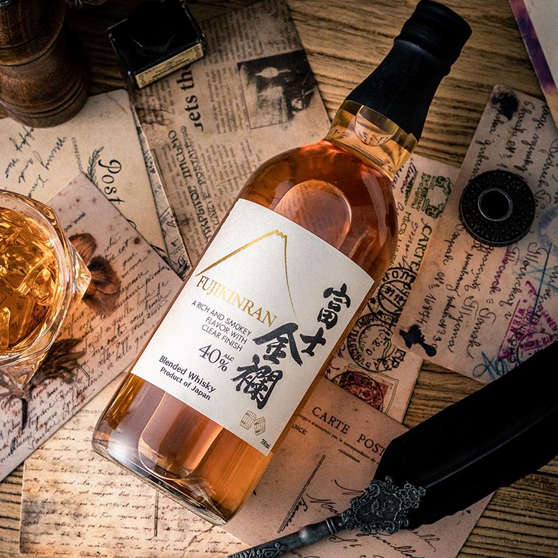 富士金 700ml 领优惠 FUJIKINRAN 日本原装进口洋酒日本威士忌