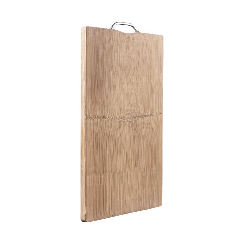 整竹菜板家用切菜板擀面板大号案板实木加厚宿舍小号水果套装砧板