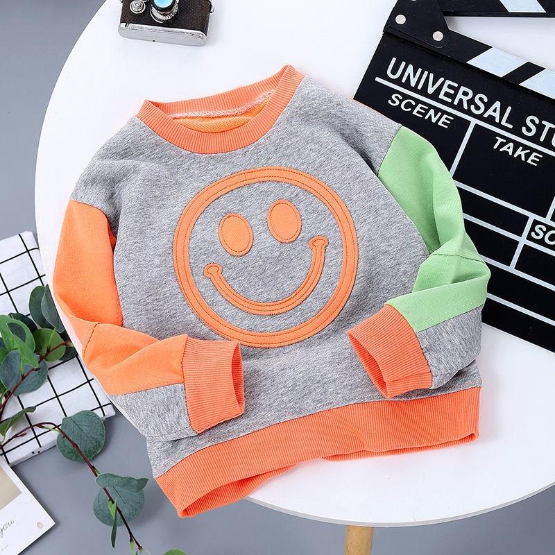 男女童2021新款卫衣春秋款儿童秋装宝宝小孩衣服拼接长袖上衣外套