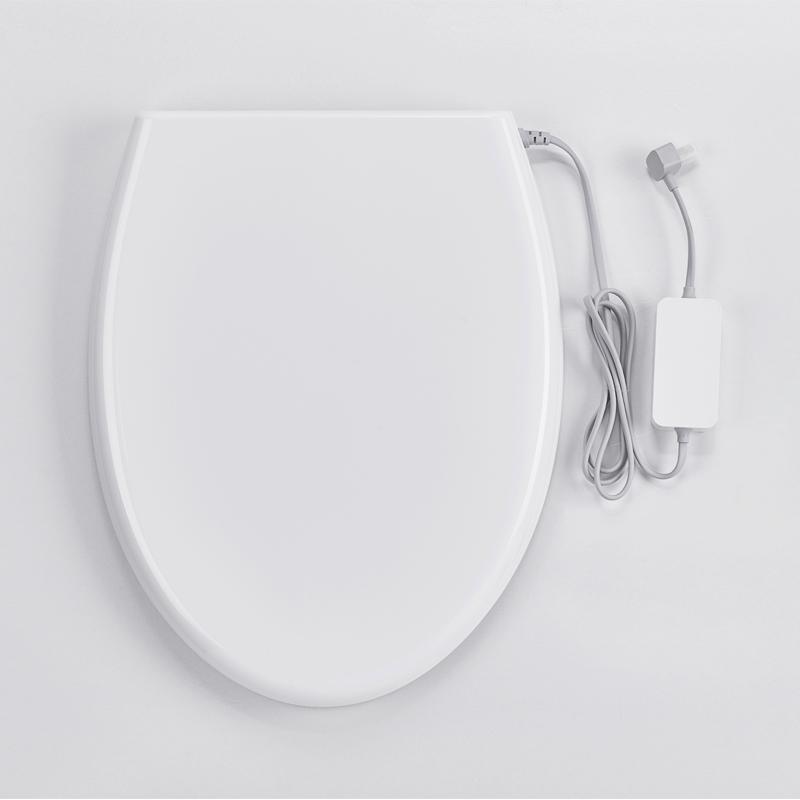 小鲸洗调温马桶盖缓冲加热无需马桶垫家用通用三挡调温坐便器盖板