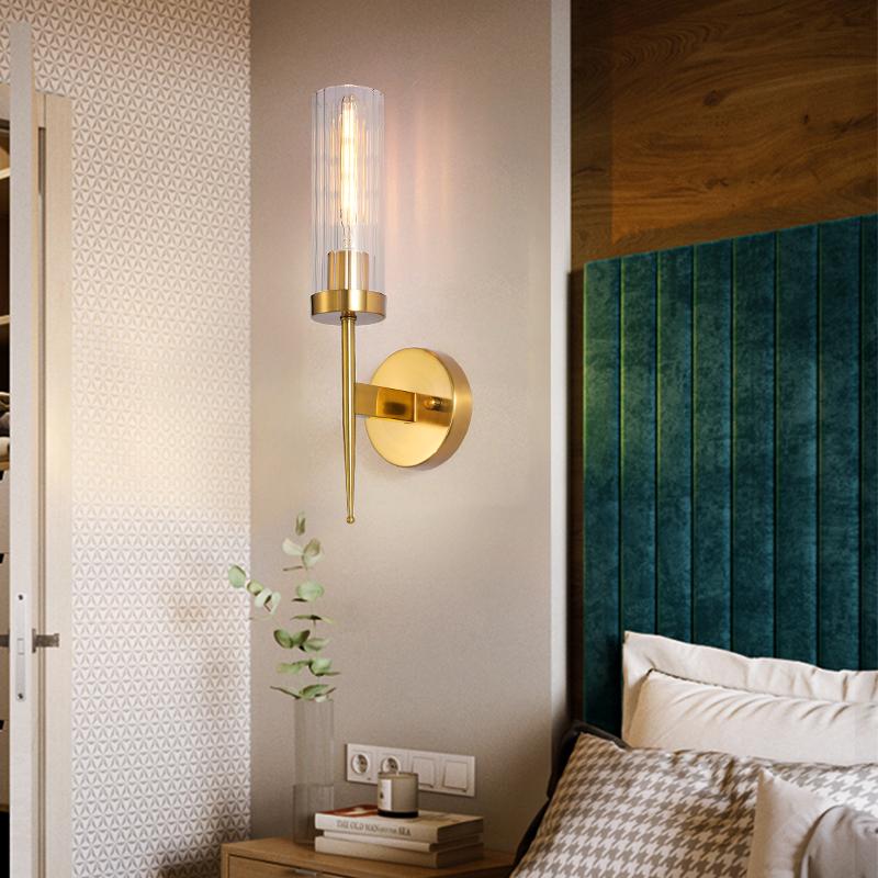 轻奢灯卧室背景墙装饰led灯