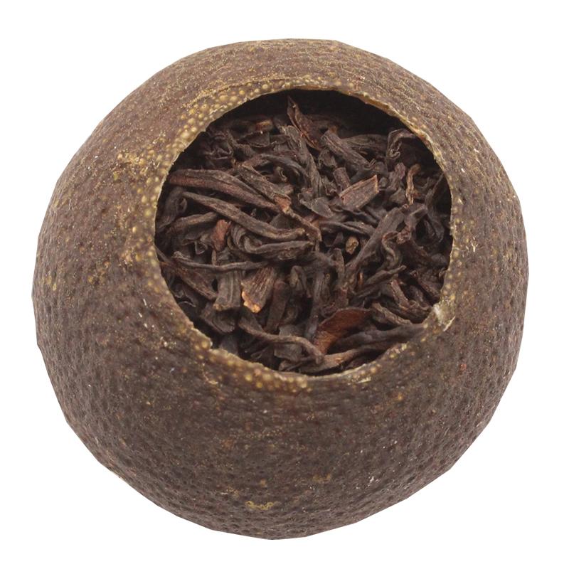新会小青柑红茶祁门特级安徽正宗功夫工桔子茶包花果粒茶叶礼盒装