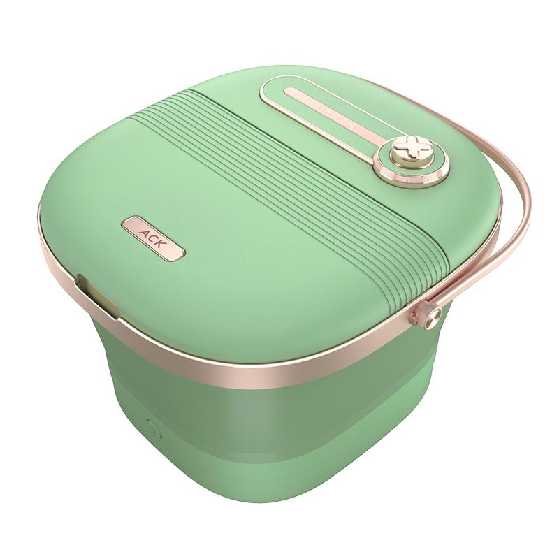 可折叠泡脚桶电动按摩全自动加热恒温调节智能家用洗脚盆足浴神器