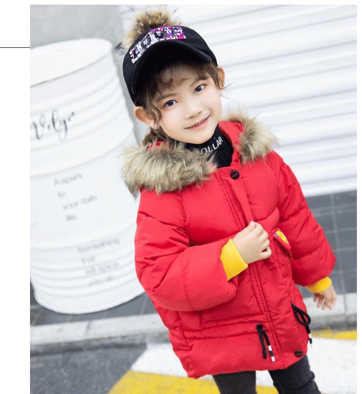 韩版秋冬新款宝宝面包服儿童棉服