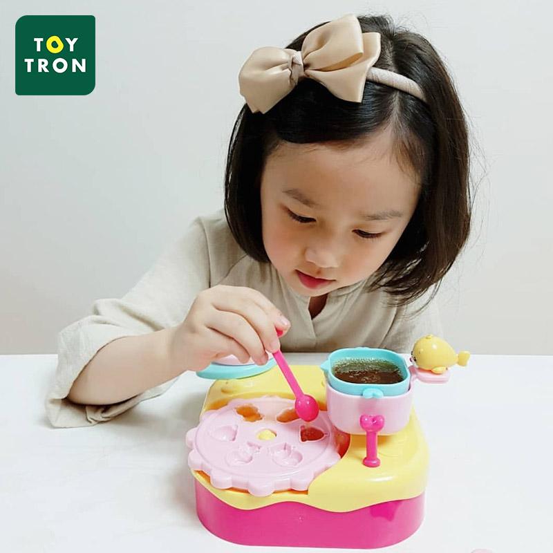 韩国Toytron儿童玩具手工果冻机制作机家用磨具创意自制果冻机