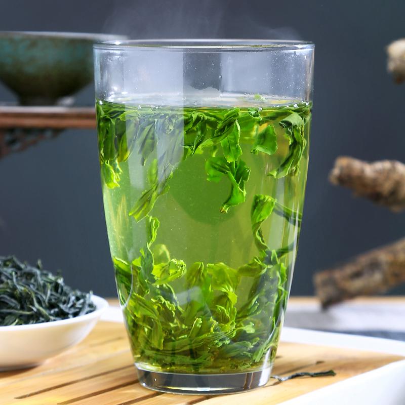 六安瓜片2021新茶特级绿茶春茶浓香型手工安徽茶叶礼盒装500g主图