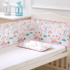 Baby crib bed surrounding baby bedding kit summer anti-collision breathable mesh soft bag blocking cloth bed curtain can be customized