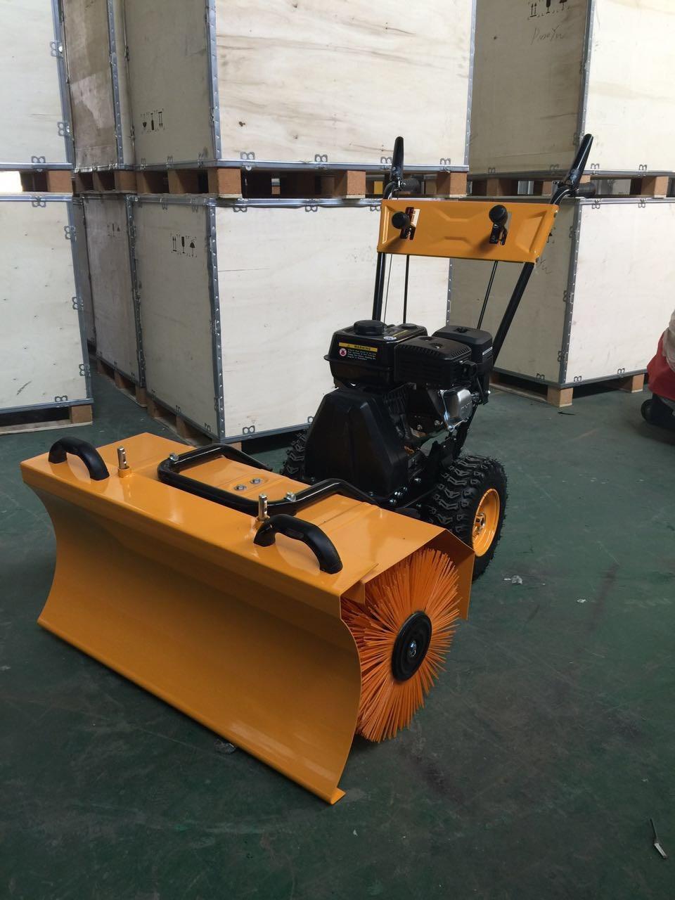 电启动柴油动力扫雪机