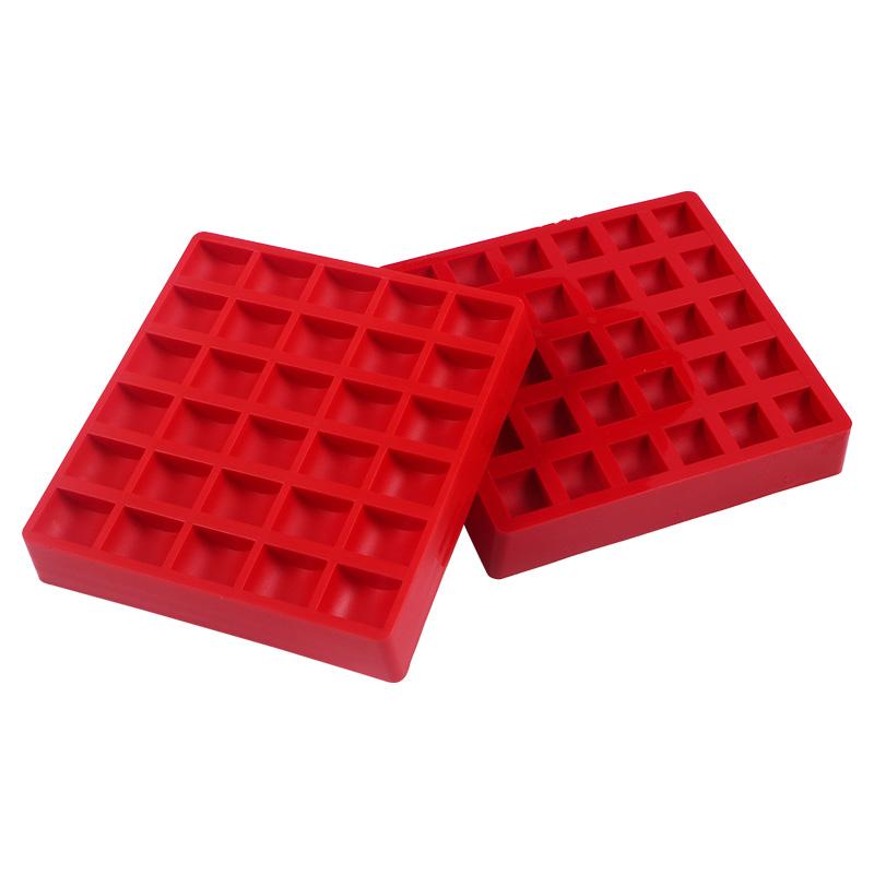 1一元硬币盒超市银行一块钱硬币盒子ABS塑料游戏币盒硬币收纳盒数硬币神器装硬币的盒子装币盒