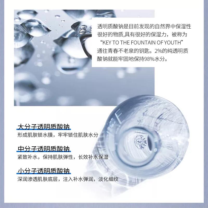 【敷益清】透明质酸钠修护蓝膜4盒