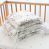 Baby crib, soft bag, anti-fall, anti-collision, one piece baby splicing bed, bed fence cloth, cotton bedding, removable and washable