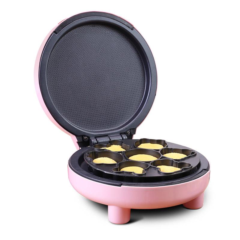 卡蜜儿蛋糕机家用电饼铛双面加热全自动小型蛋卷薄饼机烙饼煎饼锅