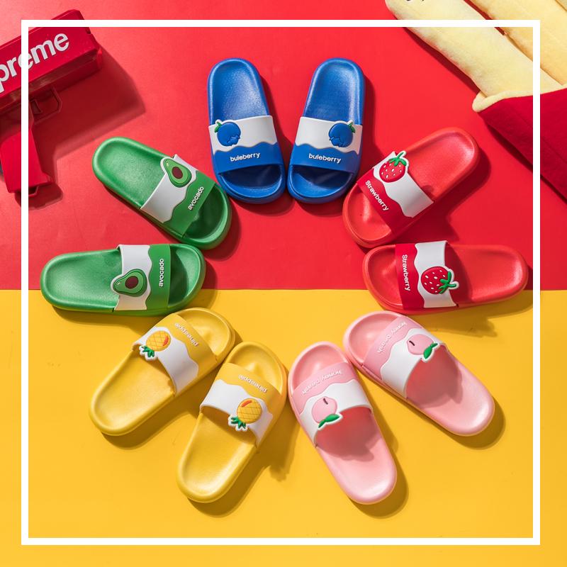 儿童拖鞋夏男童女童室内防滑家居可爱宝宝亲子一家三口防滑凉拖鞋