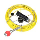 30M Sewer Waterproof Video Camera 7 Drain Pipe Inspection