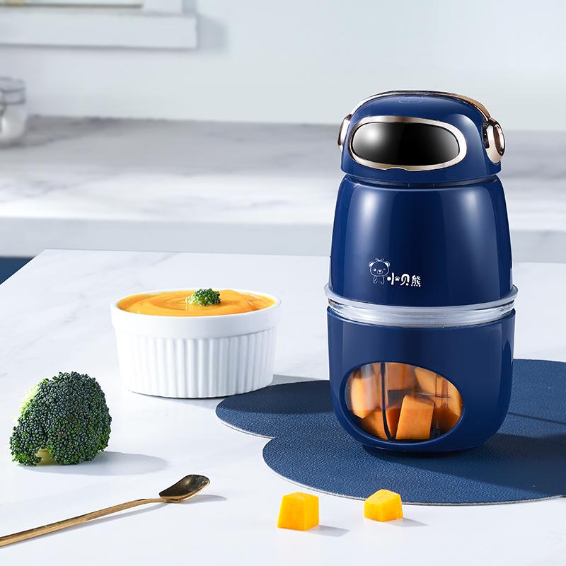 小贝熊辅食机婴儿家用多功能小型打泥搅拌机迷你全自动宝宝料理机
