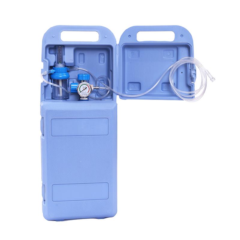 氧气瓶医用便携式2/4升家用小型自驾罐制氧机救急户外手提供氧器