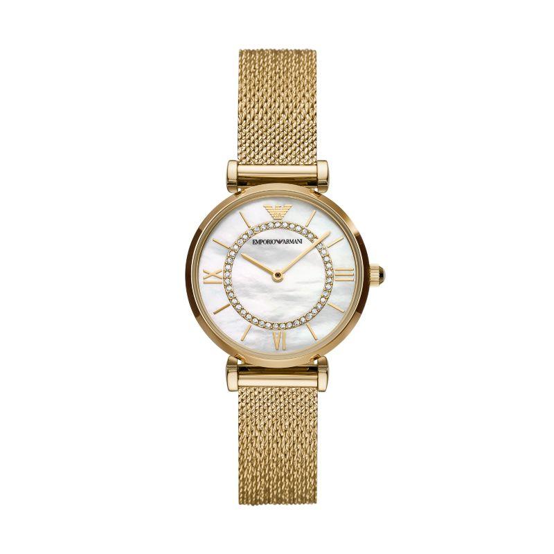 Armani阿玛尼手表新款满天星手表女时尚气质小表盘石英表 AR11321