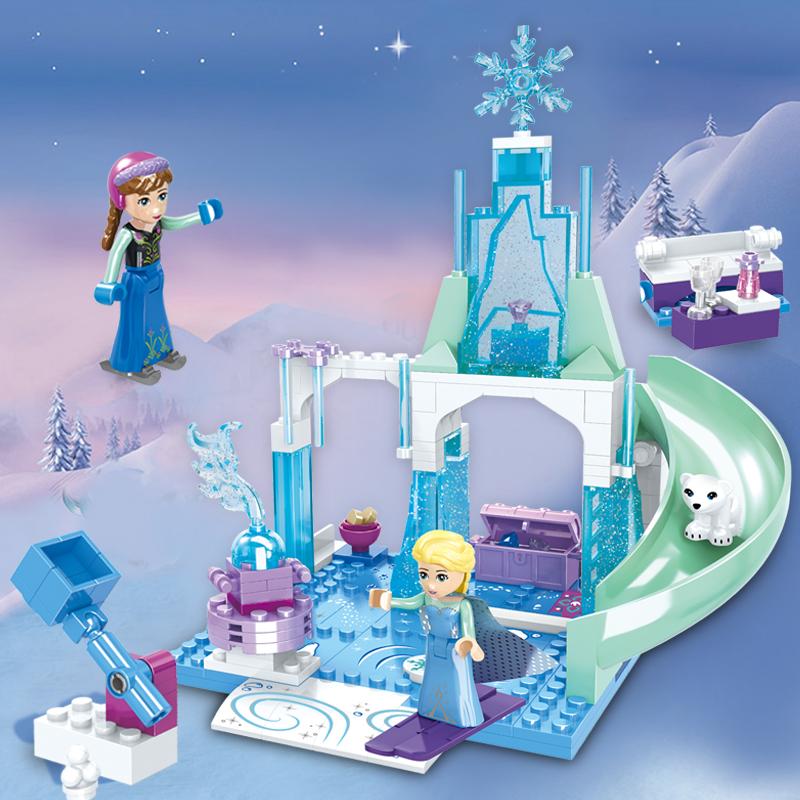 3015装兼容legao2019新品女孩子公主系列益智拼积木玩具套装023A
